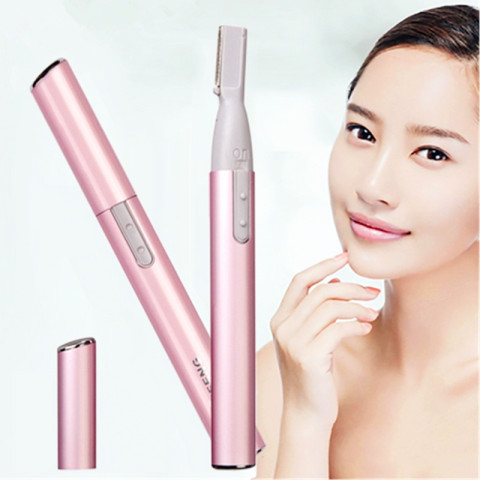 Electric eyebrow knife trimmer