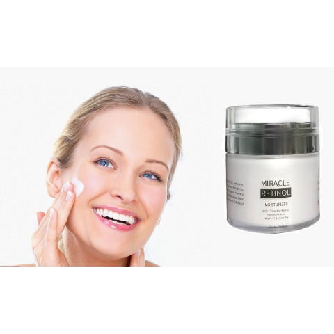 Miracle Retinol Anti-Aging Cream on 50ml - improves skin texture and gives more glow!