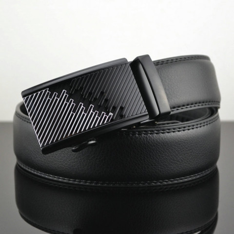 Men Automatic Buckle Leather luxury Belts