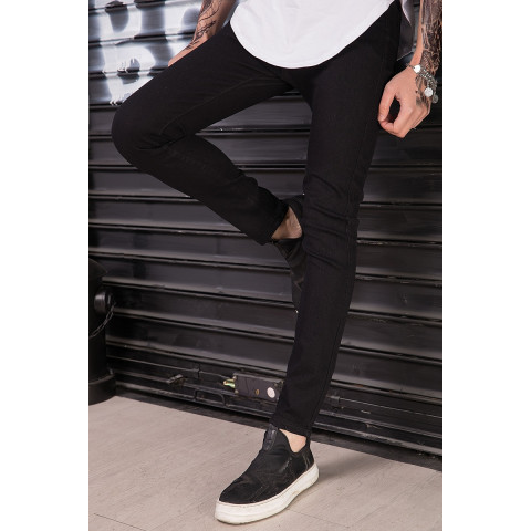 Men Skinny Fashion Hip Hop High Street Jeans Pants