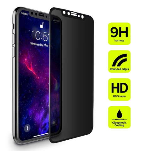 Privacy Filter Tempered Glass Film AntiSpy Shield Screen Protector