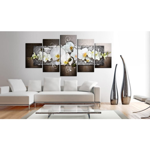 Fashion Wall Art Canvas Painting 5 Pieces Mangnolia Flower