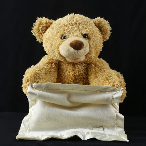 Teddy Bear Hide And Seek Animated Stuffed Animal Talking Bear Toy