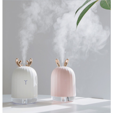 220ml White Deer Mini Air Humidifier