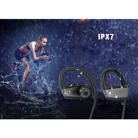GS07 IPX7 Waterproof Wireless Bluetooth Earphone