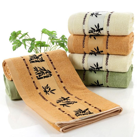 Towels in bamboo 4- or 5 parts