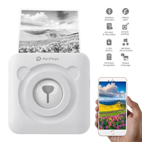 A6 PeriPage Mini Portable Bluetooth Wireless Paper Photo Pocket Printer