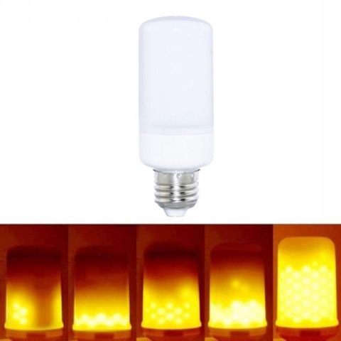 LED Flame Effect Simulated Nature Fire Light