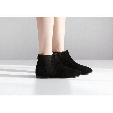Women's short tube boots