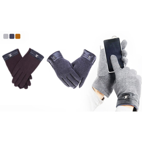 Men's warm touch glove