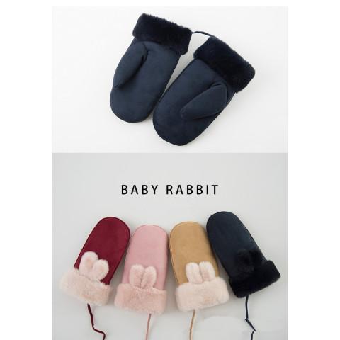 Cute Baby Girls Boys Warm Mittens