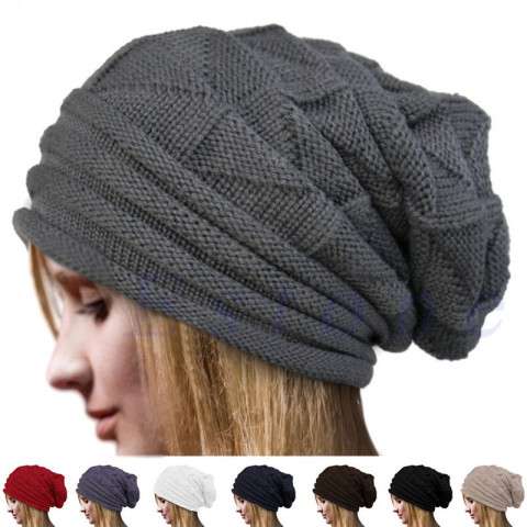 Baggy Slouchy Winter Beanie Hat