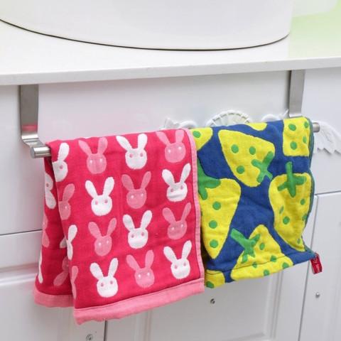 Multifunctional Door Towel Over Holder Kitchen Drawer Hook Bathroom Scarf Hanger