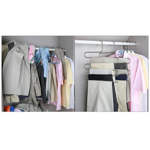 S Shape Closet Organizer