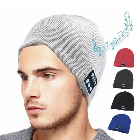 Wireless Bluetooth Headphones Music Hat Smart Caps