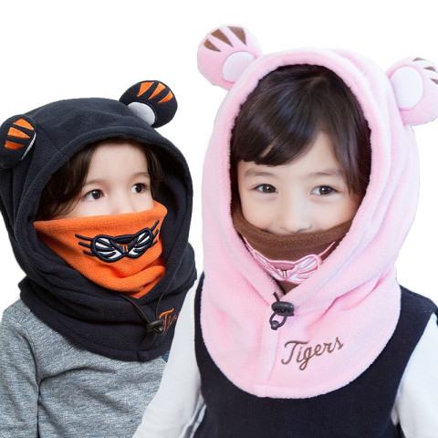 Winter Cute Hooded Hats for Kids