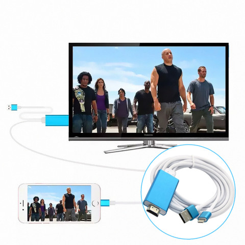 High Speed Lightning to HDMI Cable for iPhone
