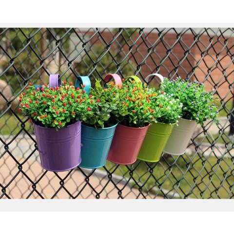 Metal Iron Flower Vase