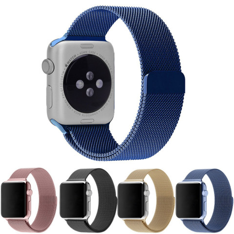 Stainless Steel Mesh Watch Strap Band iWatch
