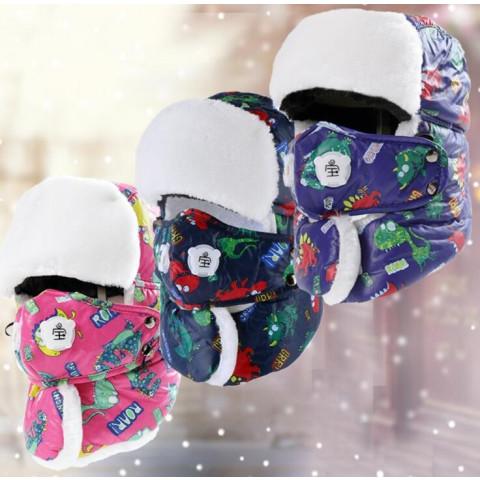 Children Winter Outdoor Earflap Warm hat