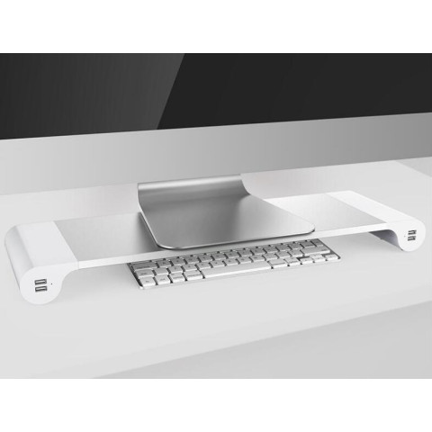 Aluminum Monitor Laptop Stand