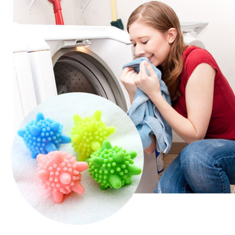 6pcs Decontamination Laundry Ball Anti-Winding Washing Ball Dryer Balls Keeping Laundry Fresh Drying Fabric Softener