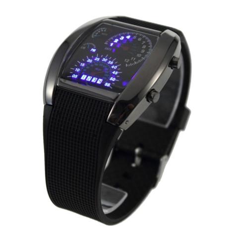 LED ur med instrumentbræt design