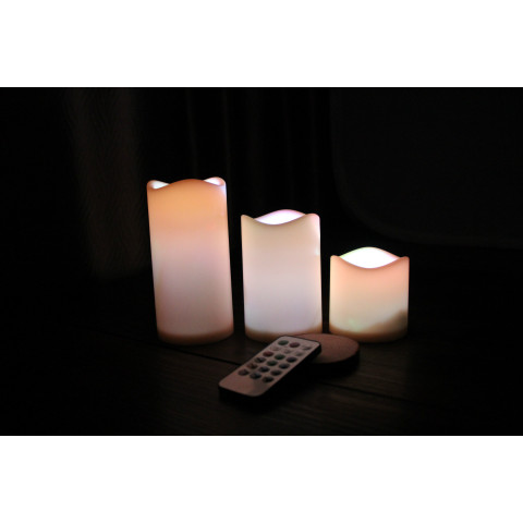 LED Candle color changeable