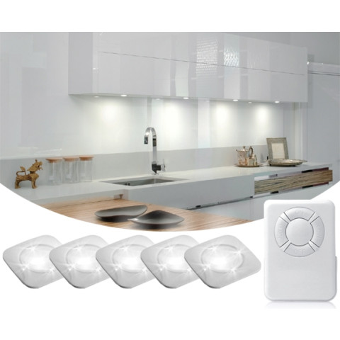 Wireless LED spots