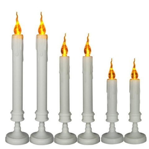 Long rods LED tears electronic candles