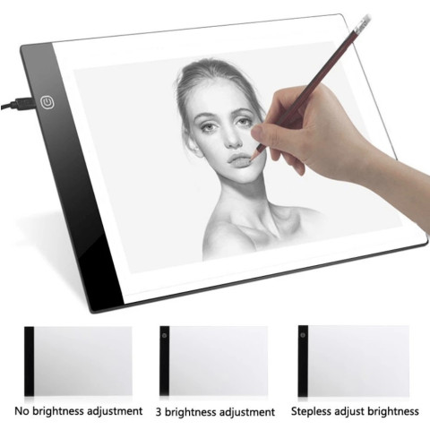 LED Graphic Artist Digital Tablets
