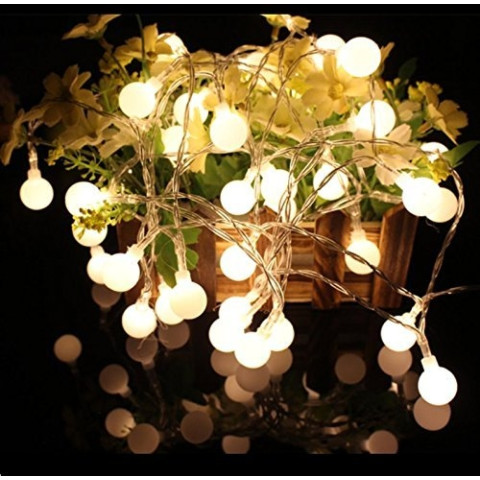 10m 100 LED Ball Fairy Light