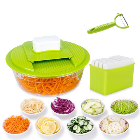 Multi-function of Vegetable Slicer Stainless Steel Cutting Vegetable Grater Creative Kitchen Gadget Carrot Potato cutter