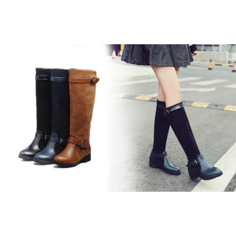 Autumn winter long boots