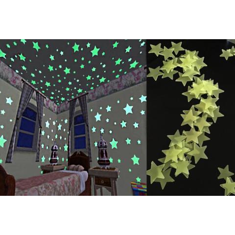 Luminous Stars Wall Stickers