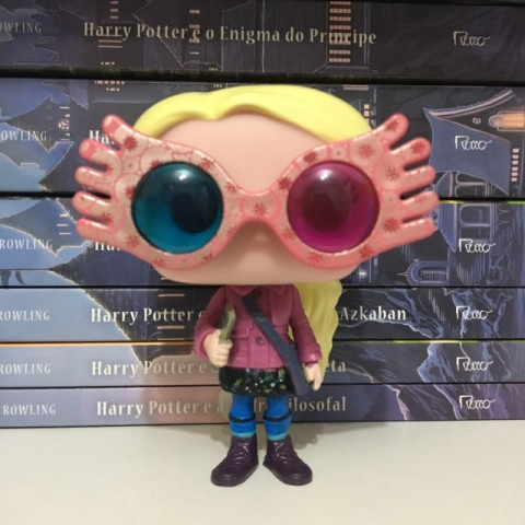 Luna Lovegood with Glasses 10cm Vinyl Doll