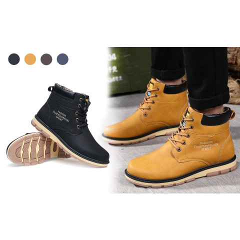 Fahsion Casual Men Boots
