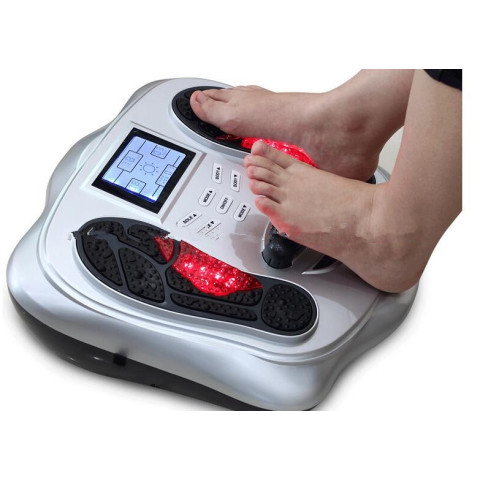 Electric infrared magnetic vibration wave pulse foot massager for blood circulation