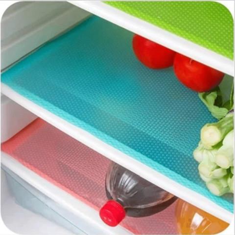 4pcs Refrigerator mat