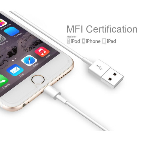 Apple MFI Certified Lightning to USB Cable for iphone