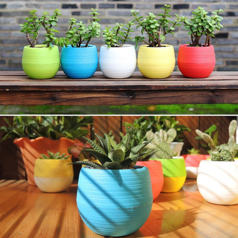 5pcs/lot 7*7cm Mini Flower Pots