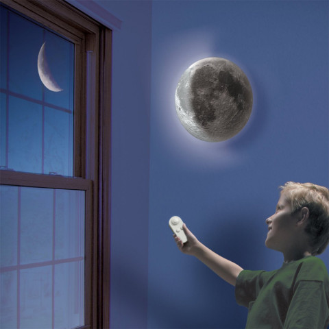 Indoor LED Wall Moon Lamp
