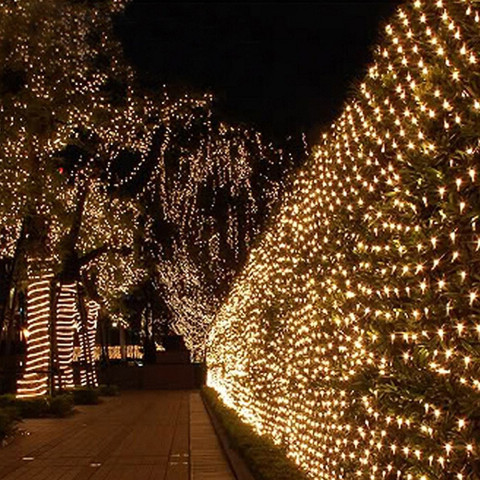 96Led/ 144Led/ 200Led Net Mesh Christmas Light