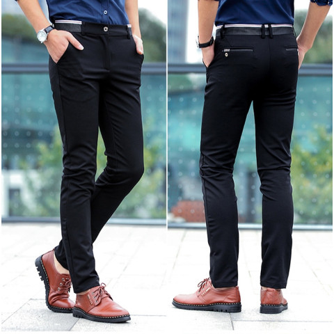 Men's fashion business casual  pants