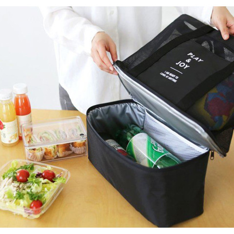 Double Layer  Picnic Insulation Bag
