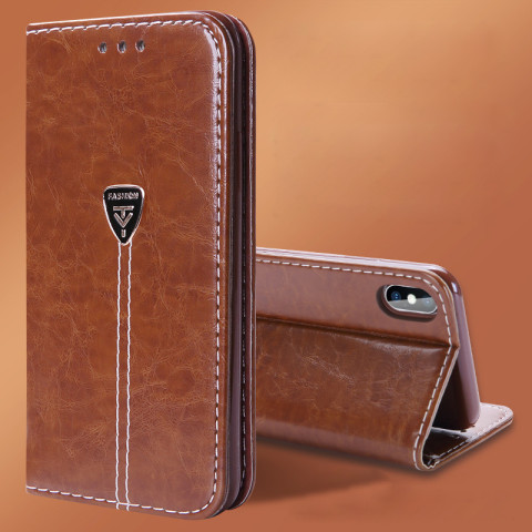 Leather Wallet  Case Cove for iphone