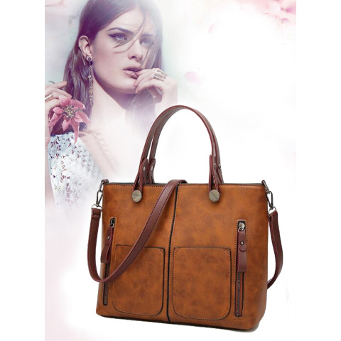 Lady Large PU Leather Handbags