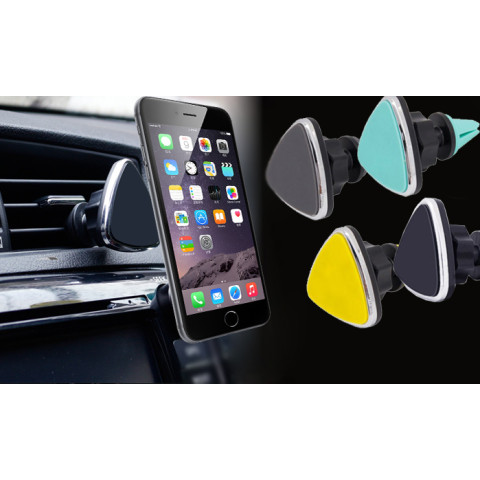 360 Degree Rotation Magnet Attraction Car Air Vent Mount Holder