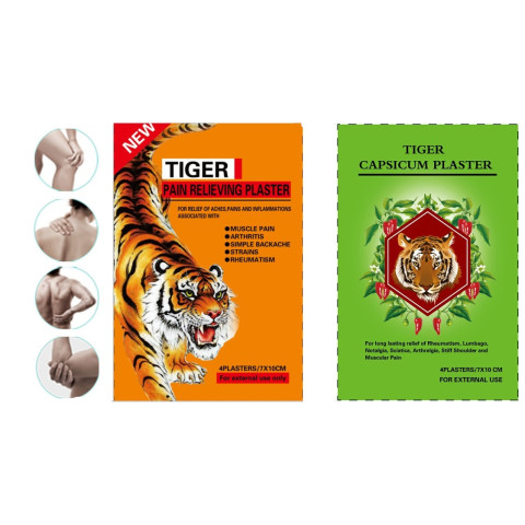 Tiger Pain Relieving Plaster
