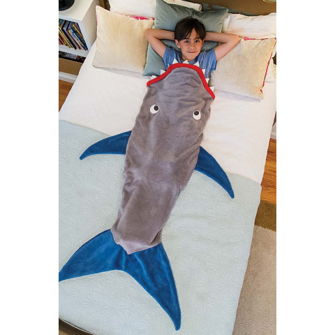 Sleeping Sharks Children Cartoon Sleeping Bag